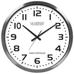 """La Crosse Technology 20"""" Atomic Analog Wall Clock"""