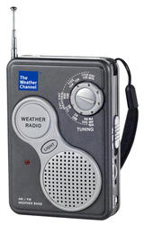 La Crosse AM/FM Handheld NOAA Weather Radio