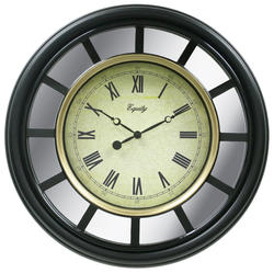 "Equity 22"" Mirror Wall Clock"