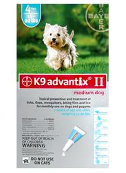 Bayer K9 Advantix® II for Dogs 11 - 20 lb. - 4 pk.