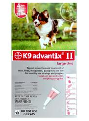 Bayer K9 Advantix® II for Dogs 21 - 55 lb. - 4 pk.