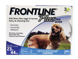 Frontline Plus® for Dogs 23 - 44 lb. - 3 pk.