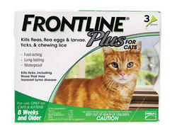 Frontline Plus® for Cats and Kittens - 3 pk.