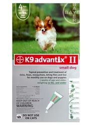 Bayer K9 Advantix® II for Dogs up to 10 lb. - 4 pk.
