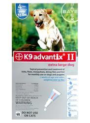 Bayer K9 Advantix® II for Dogs 55+ lb. - 4 pk.