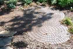 Landworks Design Circular Trio Patio Plan