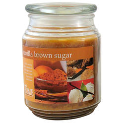 Empire Home® Vanilla Brown Sugar Jar Candle - 20 oz.