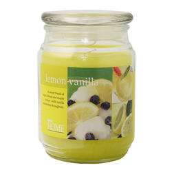 Empire Home® Lemon Vanilla Jar Candle - 20 oz.