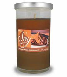 Empire Home® Vanilla Cinnamon Brulee Soy Candle - 17 oz.