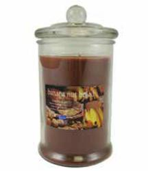Langley® Home Banana Nut Bread Cylinder Candle - 10 oz.