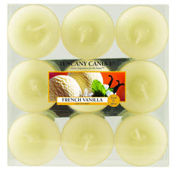 Tuscany Candle® French Vanilla Tealight Candles - 9 pk.