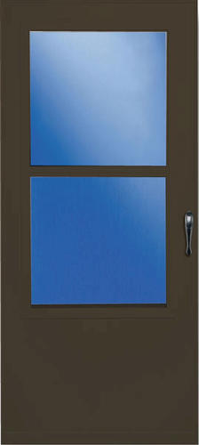 Larson 30 X 80 Self Storing Value Core Storm And Screen Door At M
