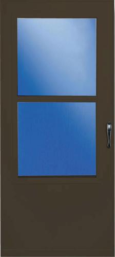larson 34 x 80 self storing value core storm and screen door at menards. Black Bedroom Furniture Sets. Home Design Ideas