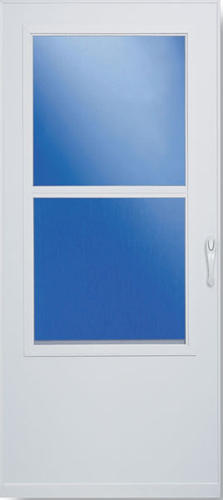 Larson Self Storing Value Core Storm And Screen Door At