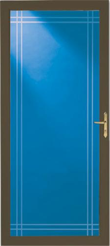Larson Classic View Double Bevel Storm And Screen Door At