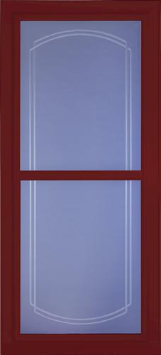Fullviewbevelcranberry on Larson Full View Storm Door