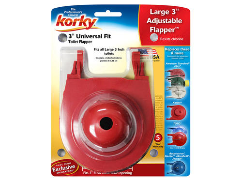 Korky Universal 3 Flapper At Menards