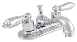 Plumb Works Two-Handle Bathroom Sink Teapot Faucet