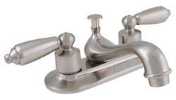 Plumb Works Two-Handle Bathroom Sink Teapot Faucet