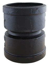 "4"" Cast Iron Double Hub Adapter"
