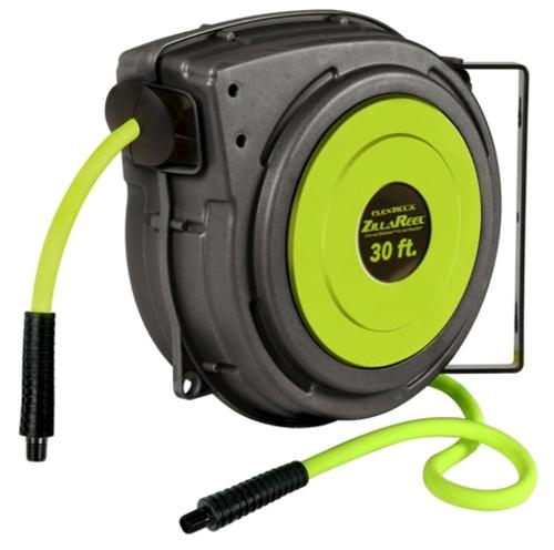 "Flexzilla® ZillaReel™ Auto Retractable Air Hose Reel with 3/8"" x 30"
