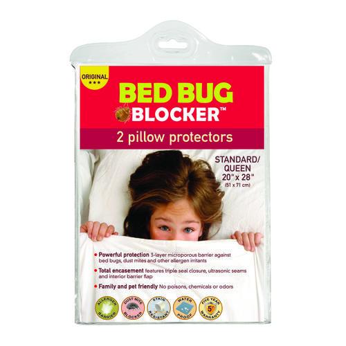 bed bug blocker queen pillow protector 2 pk at menardsr With bed bug blocker pillow protector