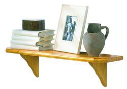 English Oak Venezia Deluxe Pine Shelf Kit