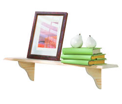 Unfinished Americana Solid Pine Shelf Kits