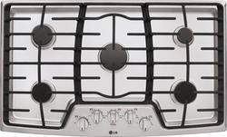 """LG® 36"""" Built-In Gas Cooktop with 5 Sealed Cooktop Burners"""