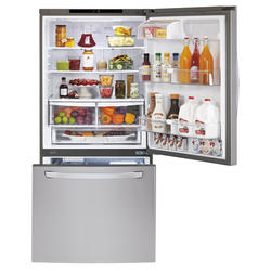 LG® 23.8 cu. ft. Refrigerator with Bottom-Mount Freezer