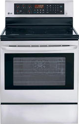 LG® 6.3 cu. ft. Freestanding Electric Smoothtop Range with True Convection