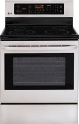 LG® 6.3 cu. ft. Freestanding Electric Oven and Smoothtop Range