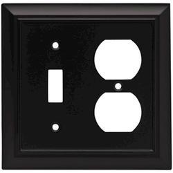 Brainerd Architectural Single Switch/Duplex Wall Plate