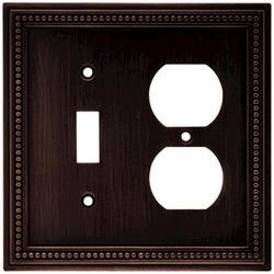 Brainerd Beaded Single Switch/Duplex Wall Plate