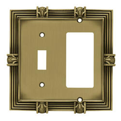 Brainerd Pineapple Single-Switch/Decorator Wall Plate