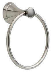 Delta Brushed Nickel Carlisle Towel Ring