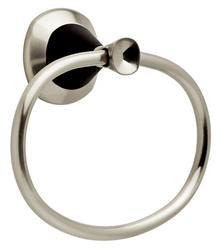 Delta Satin Nickel and Cocoa Bronze Zurie Towel Ring