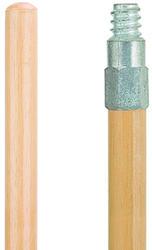 """60"""" Zinc Thread Wood Handle"""