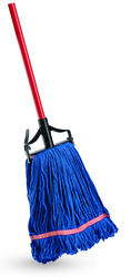 Blue Blend Mop with Handle