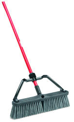 "Libman 18"" Rough Surface Heavy Duty Push Broom"