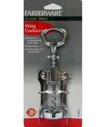 Farberware Classic Series Chrome Wing Corkscrew