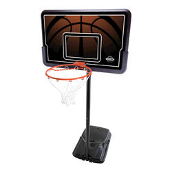 "Lifetime 44"" Portable Basketball Hoop with Impact Backboard"
