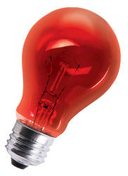 Red General Purpose Light Bulbs (4-Pack)
