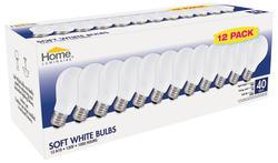Home Luminaire Soft White 40 Watt A19 General Purpose Bulbs (12-Pack)