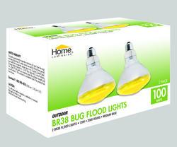 Home Luminare 100-Watt BR38 Bug Flood Light Bulbs (2-Pack)