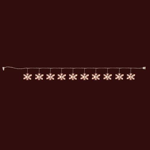 String Lights Menards : 10-Light Snowflake Novelty Christmas Light Set at Menards