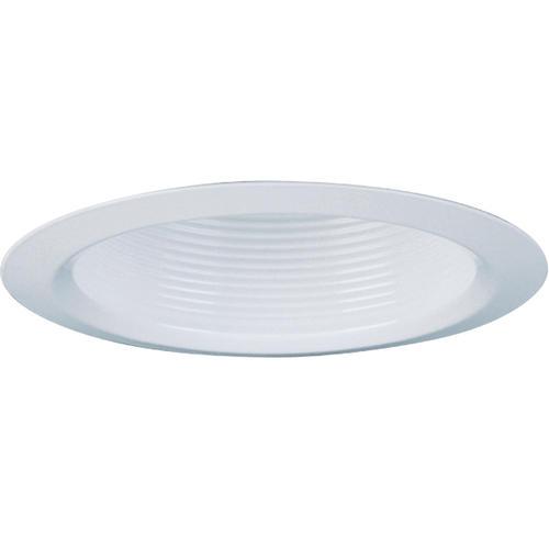 Recessed Lighting Menards : Quot white baffle recessed trim