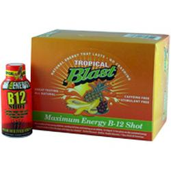 HPF: B-12 Liquid Vitamin 2 oz 12 ct Tropical Blast