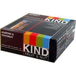 Kind: Fruit & Nut Bars Almond & Coconut 12 ct