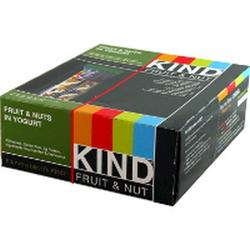 Kind: Fruit & Nut Bars Fruit & Nut in Yogurt 12 ct
